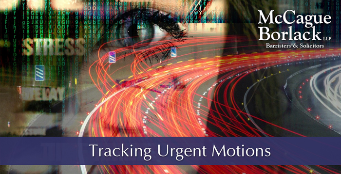 urgent motions - Image by David Bruyland from Pixabay