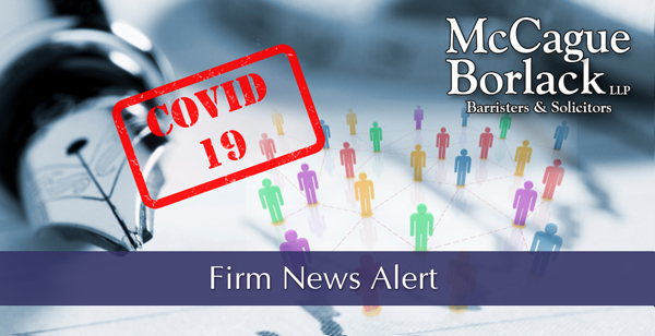 COVID-19 - Firm News