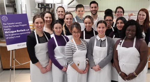 Toronto Lawyers Feed the Hungry